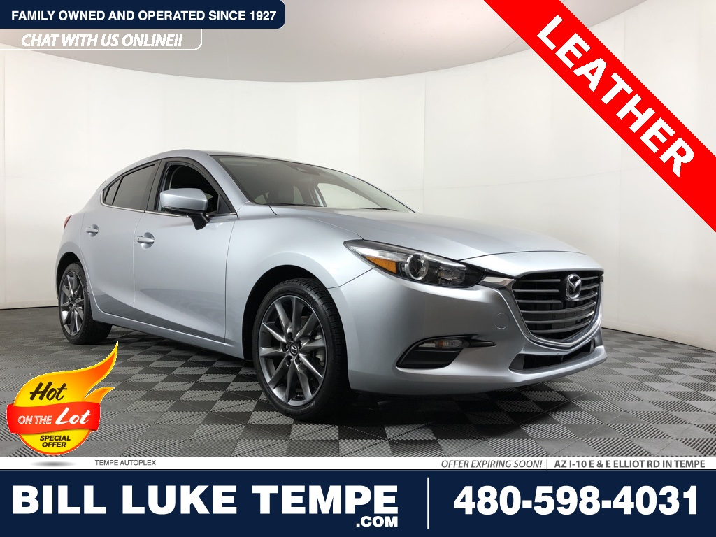 PRE-OWNED 2018 MAZDA3 TOURING FWD 4D HATCHBACK