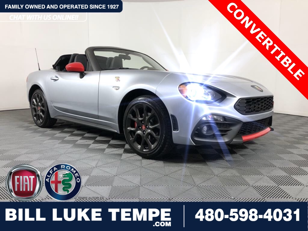 Certified Pre-Owned 2019 FIAT 124 Spider Abarth