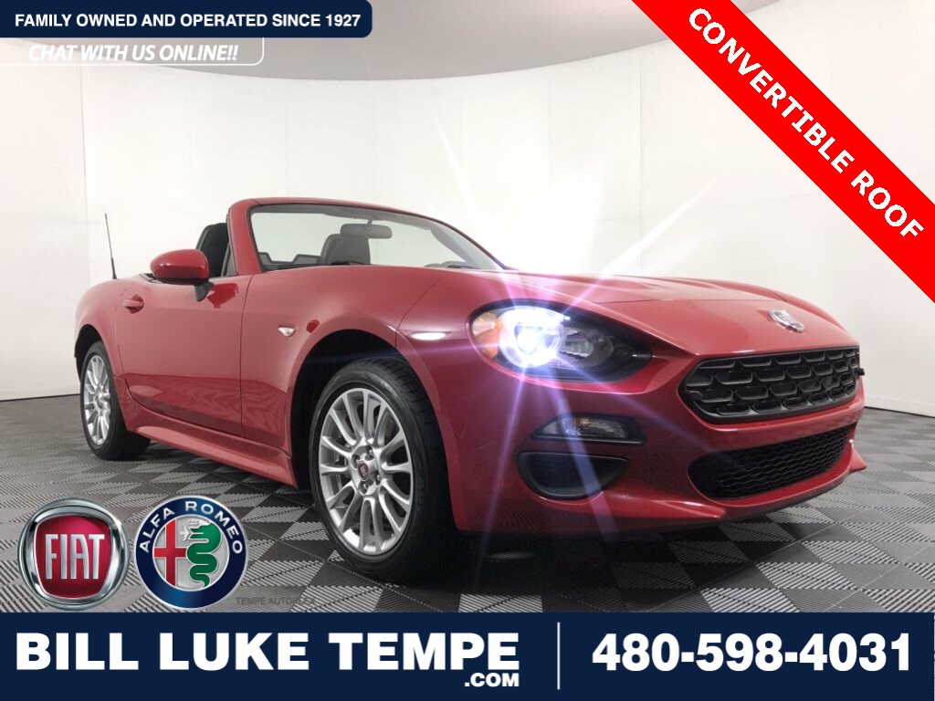 Certified Pre-Owned 2017 FIAT 124 Spider Classica