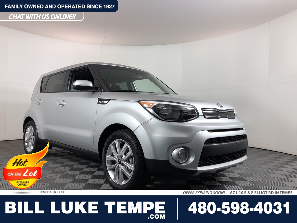 PRE-OWNED 2019 KIA SOUL PLUS FWD 4D HATCHBACK