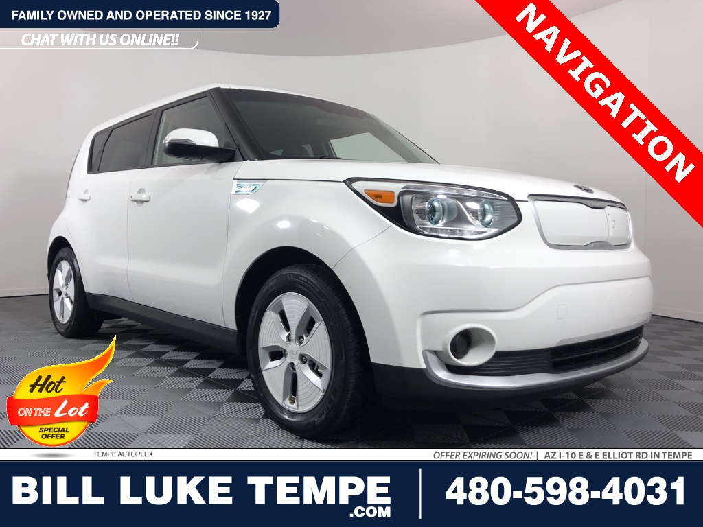 PRE-OWNED 2016 KIA SOUL EV EVE WITH NAVIGATION