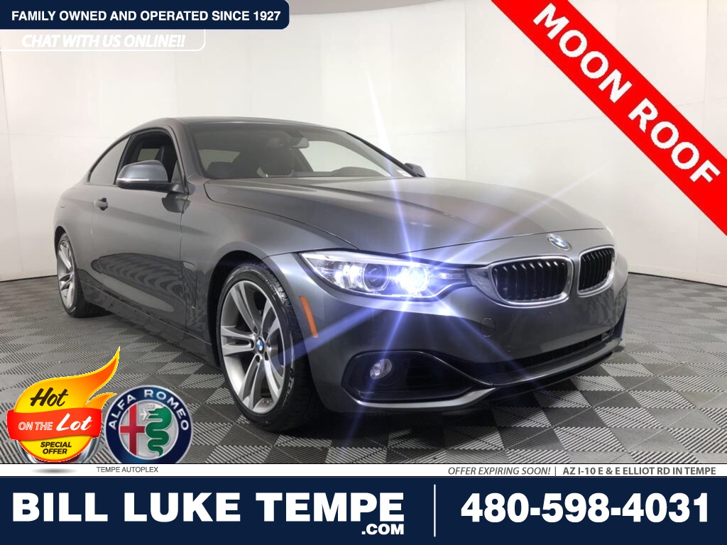 PRE-OWNED 2016 BMW 4 SERIES 428I RWD 2D COUPE