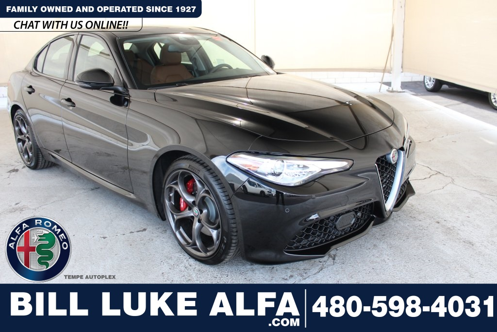New 2019 Alfa Romeo Giulia Ti Sport Sedan In Tempe An0341 Bill